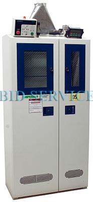 Used Praxair 3 Cylinder Gas Cabinet
