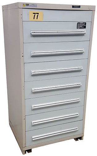 Used Stanley Vidmar Storage Cabinet