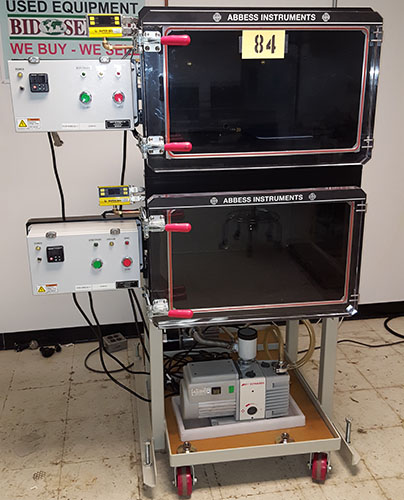Dual Vacuum Altitude and Degassing chambers
